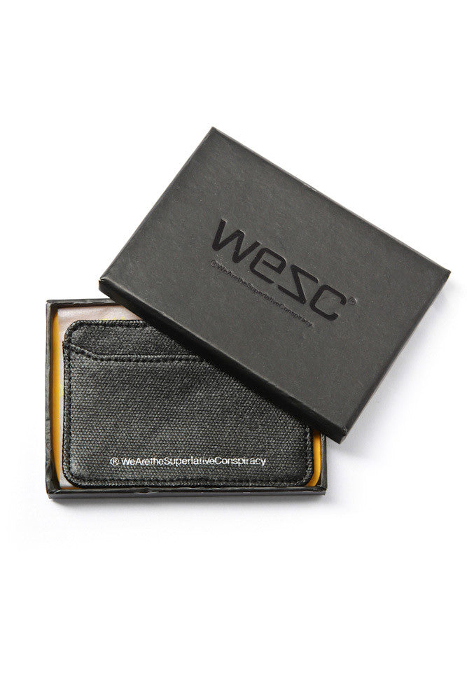 Wesley Canvas Credit Card Case (More Colors)