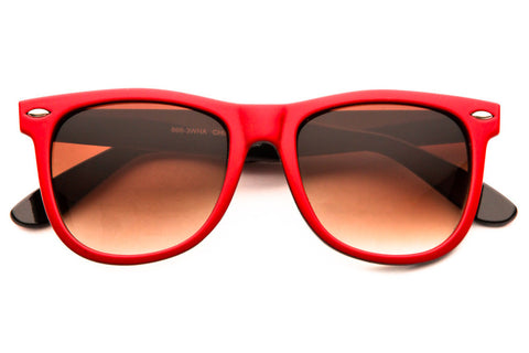 Shindig II Two Tone Colored Traveler Sunglasses