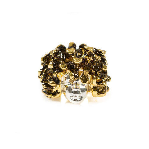 Medusa Ring (Silver/Gold)