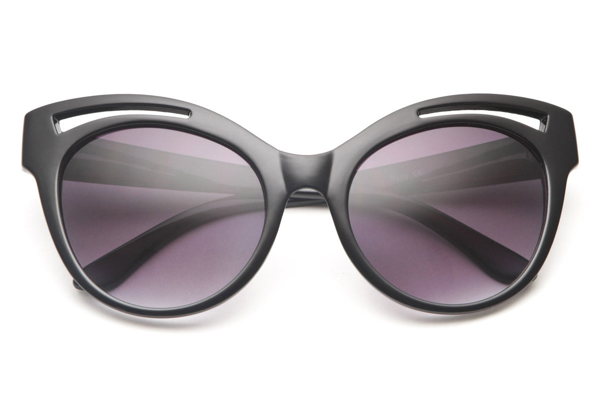 Suzette Large Rounded Cateye Sunglasses