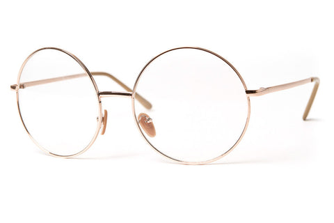 Noir Zero Oversized Round Clear Lens Glasses