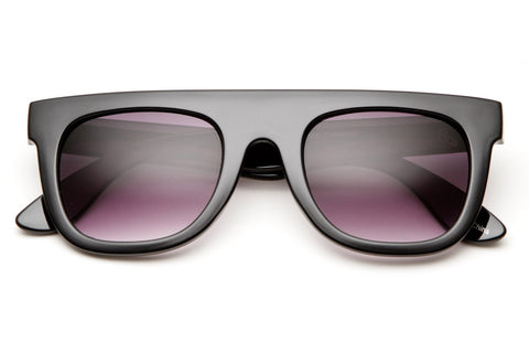 Bloc Flat Top Wayfarer Sunglasses