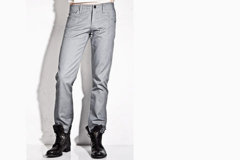 Men's Watts Woven Denim Pants (Stone Grey)