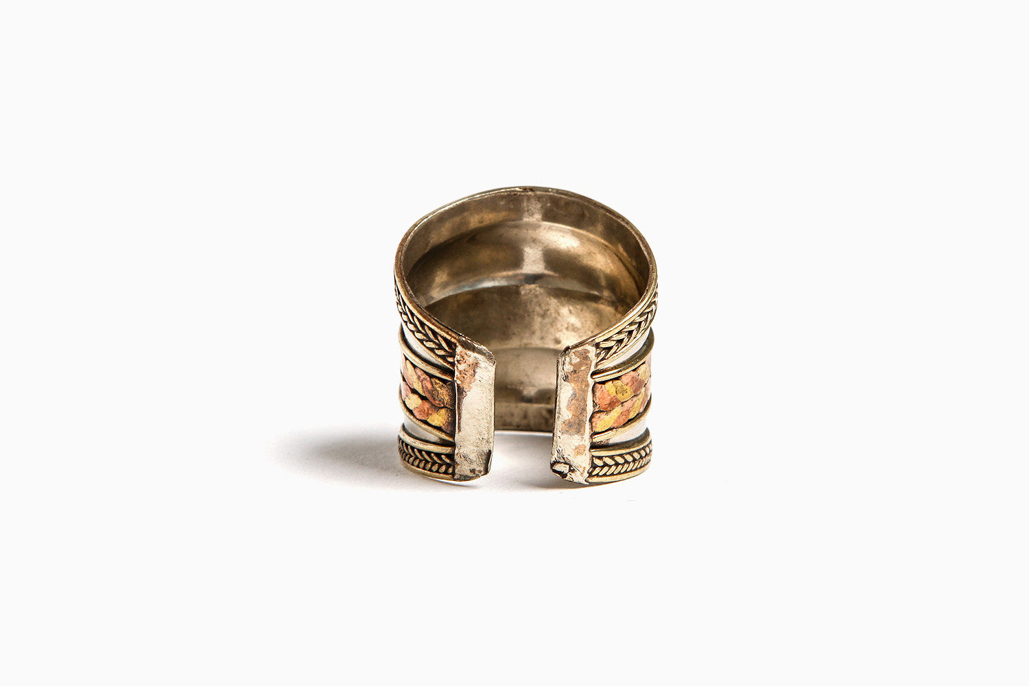 The Empress Wrap Adjustable Ring (Silver)