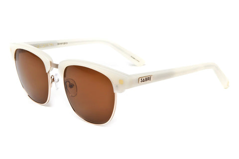 Vacation Sunglasses (Ivory/Bronze)