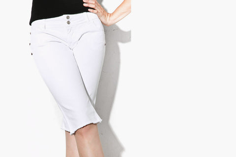 Women's Pixie Shorts (White)