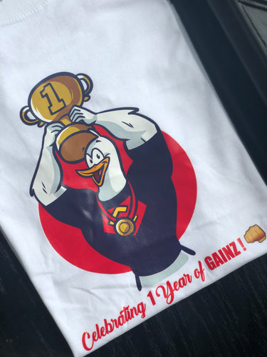 1-Year Anniversary Chicken Pound T-Shirt