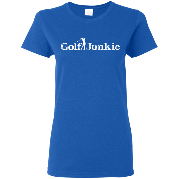 Golf Junkie Womens T-shirt