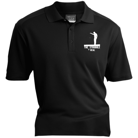 The Struggle Is Real - Embroidered Nike® Dri-Fit Polo Shirt