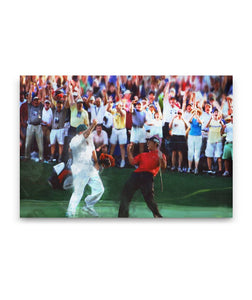 Winning - Golf Canvas Wall Decor
