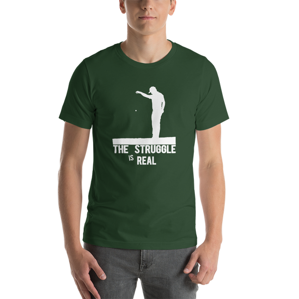 The Struggle Is Real - Funny Golf T-shirt