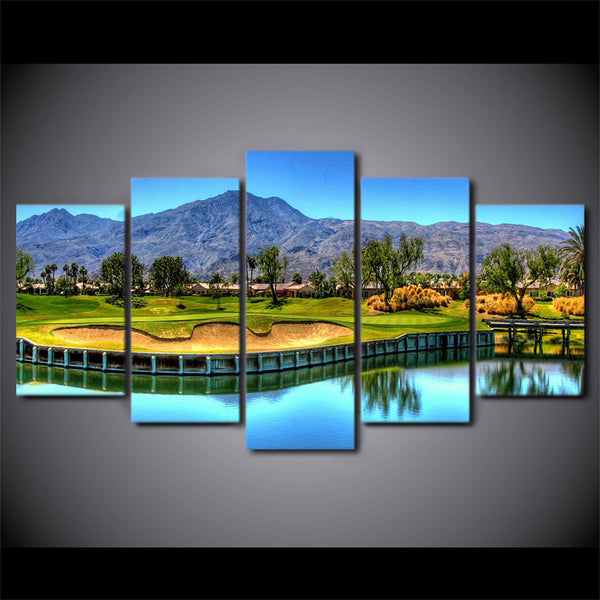 Golf Wall Art Canvas Wall Decor - Carry The Water