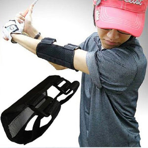 Straight Arm Golf Training Aid