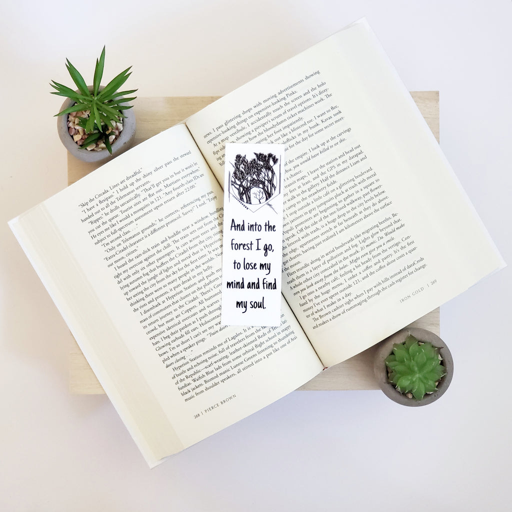 Forbidden Forest Bookmark