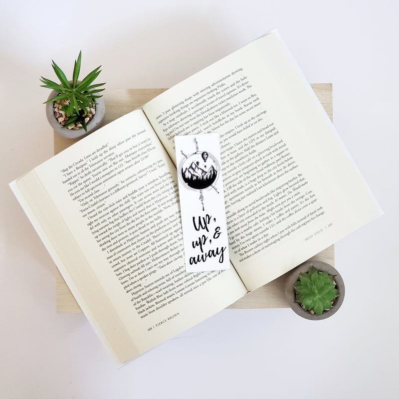 Hot Air Balloons Bookmark