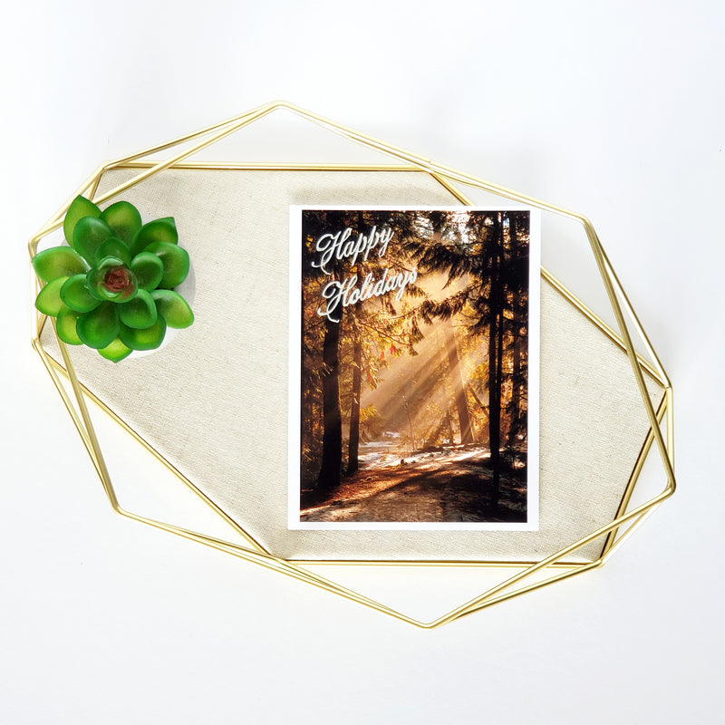 Holiday Sun Greeting Card