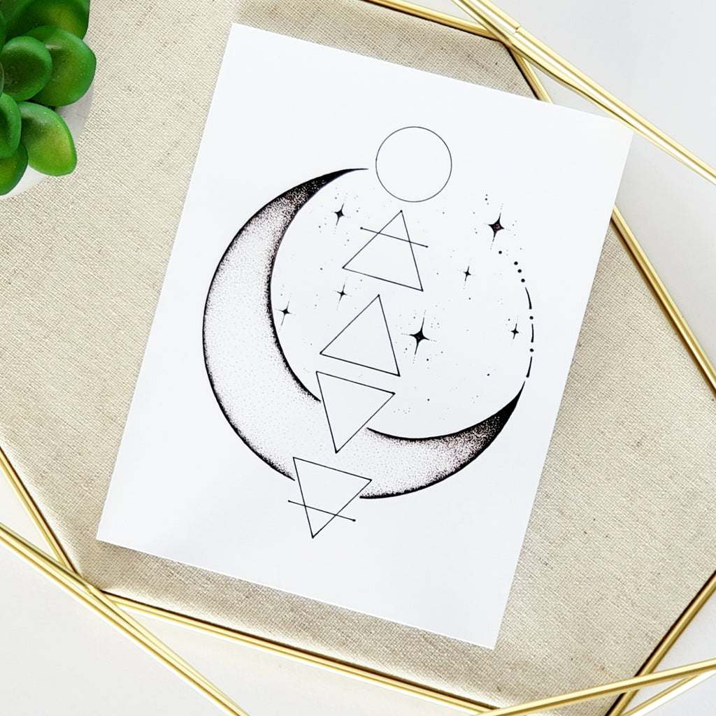 Divine Magic Greeting Card