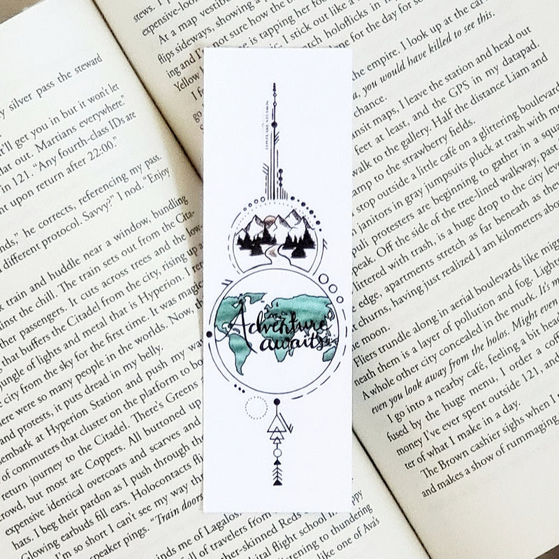 Adventure Awaits Bookmark