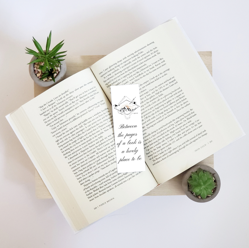 Diamond Mountain Bookmark