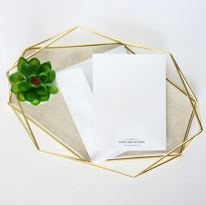 Crystal Energy Greeting Card