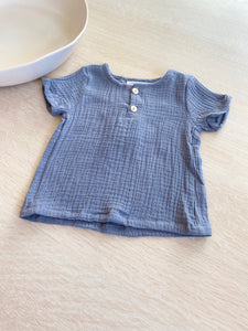 WHITBY TOP - Linen Michael