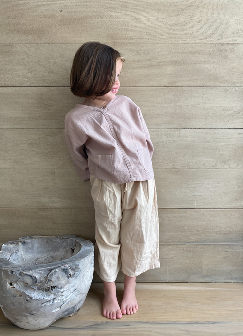 WILLA TOP - Linen Michael