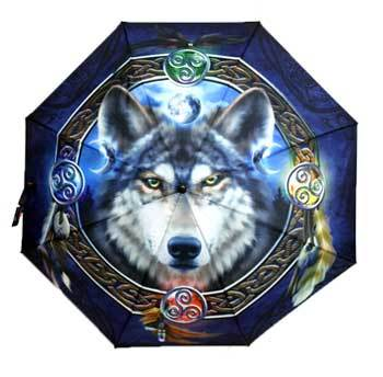 Celtic Wolf umbrella