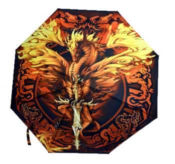 Flame Blade Dragon umbrella