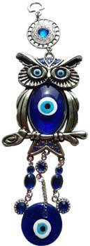 Wahching Owl Evil Eye wall hanging