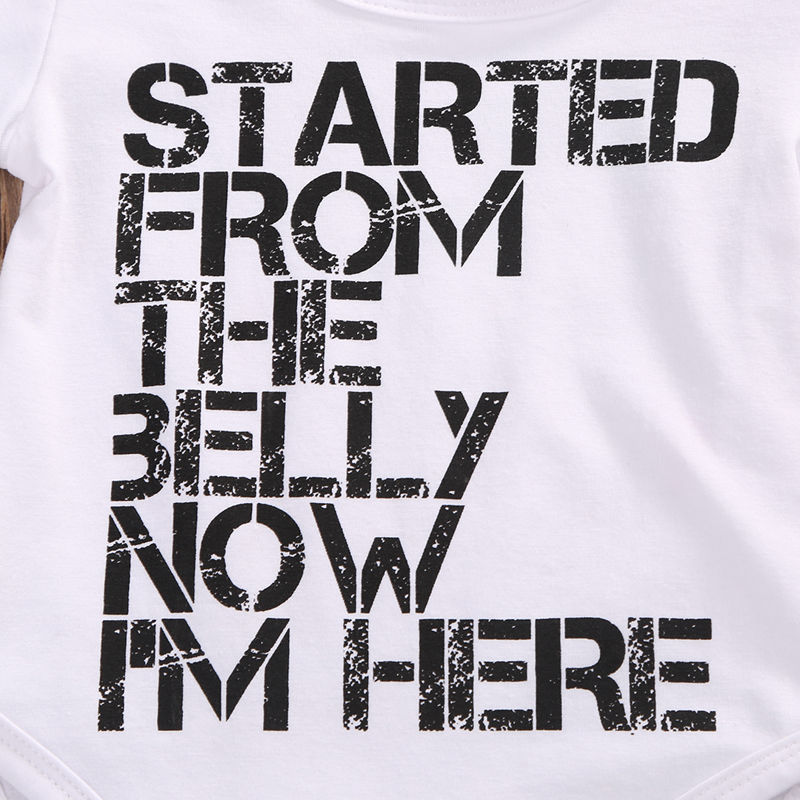 Started from the belly now i'm here
