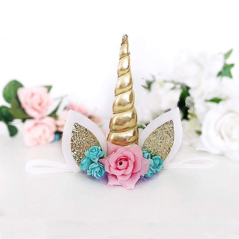 Unicorn Baby Crown