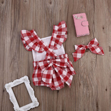 Load image into Gallery viewer, Picnic Jumper & Headband Set