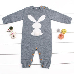 Bunny Knitted Jumpsuit