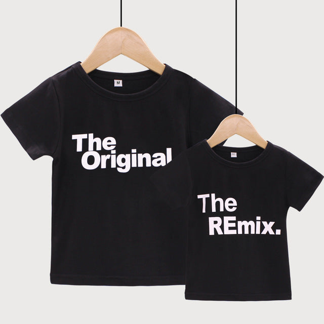 The Original/ The Remix -Daddy and Me Shirts