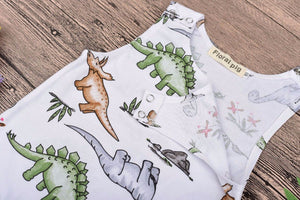 Dino Jungle Romper