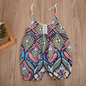 Ethnica Graphic Romper