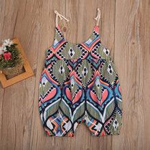 Load image into Gallery viewer, Ethnica Graphic Romper