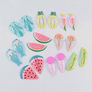 Fruity Snap hairclips