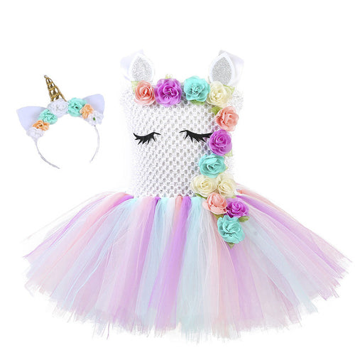 Toddler Unicorn Princess Costume