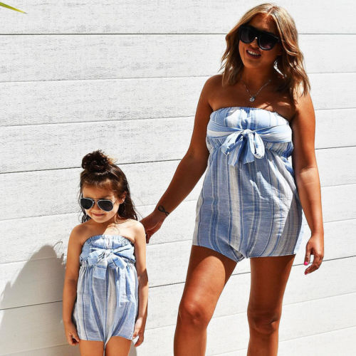 Emma & Mommy Swag Romper
