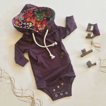 Load image into Gallery viewer, Purple Rain Romper
