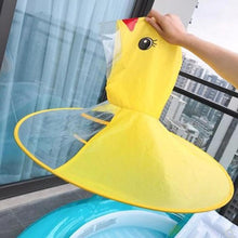 Load image into Gallery viewer, Little Yellow Ducky Raincoat
