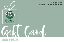Load image into Gallery viewer, Koru Gift Card