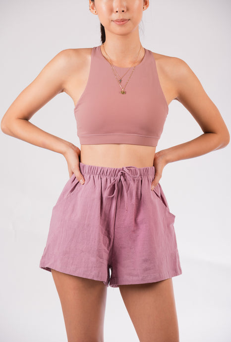 Breezy Shorts in Orchid