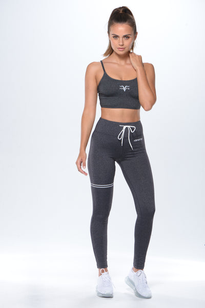 Bandeau Sports Bra - Grey