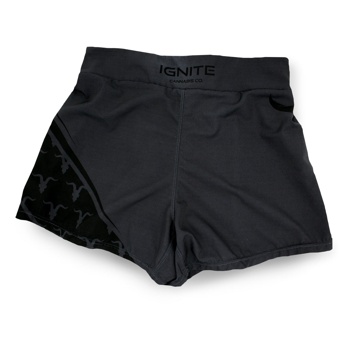 Ignite Premium Collection Grey Performance Workout Shorts - ignite-merch