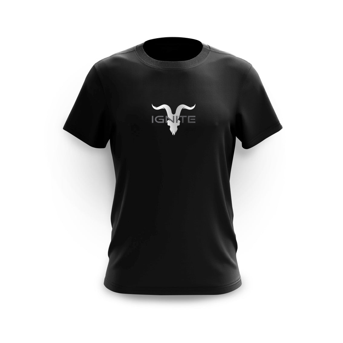Ignite Premium Collection Men's Black Classic Logo Tee - ignite-merch