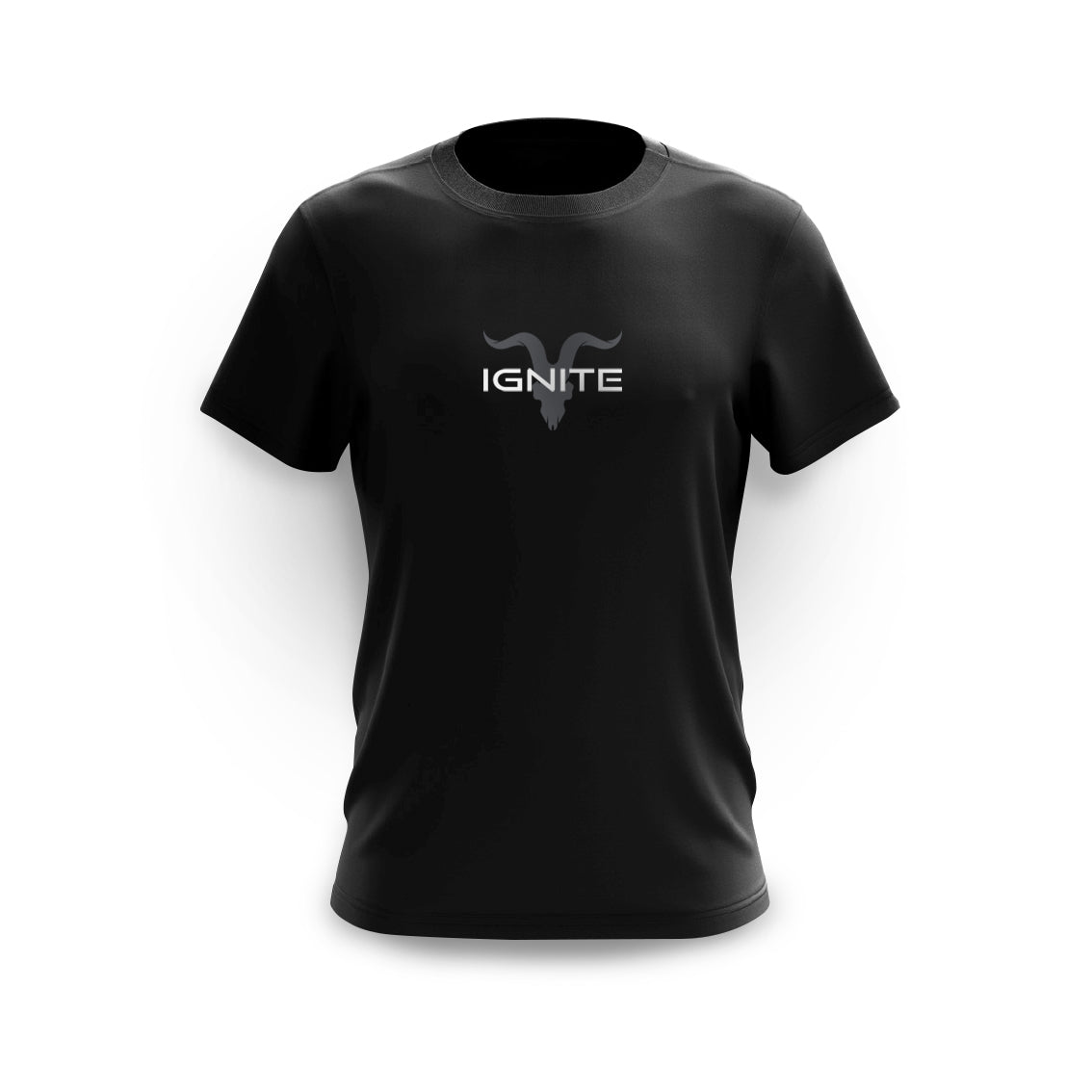 Ignite Premium Collection Men's Black & Grey Logo Tee - ignite-merch