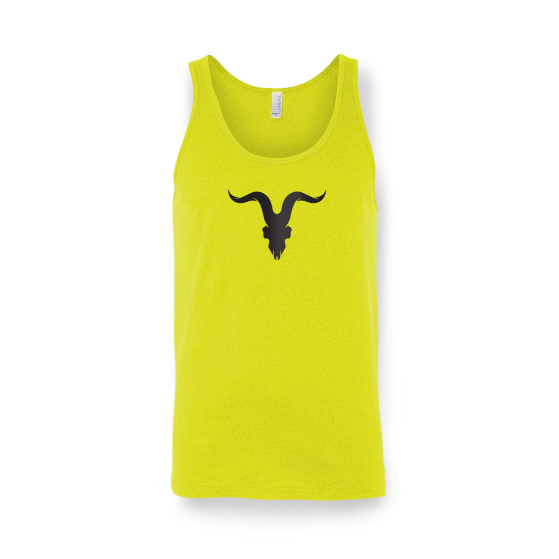 Ignite Premium Collection 'Ready for Summer' Tanks - Neon Yellow with Black Logo