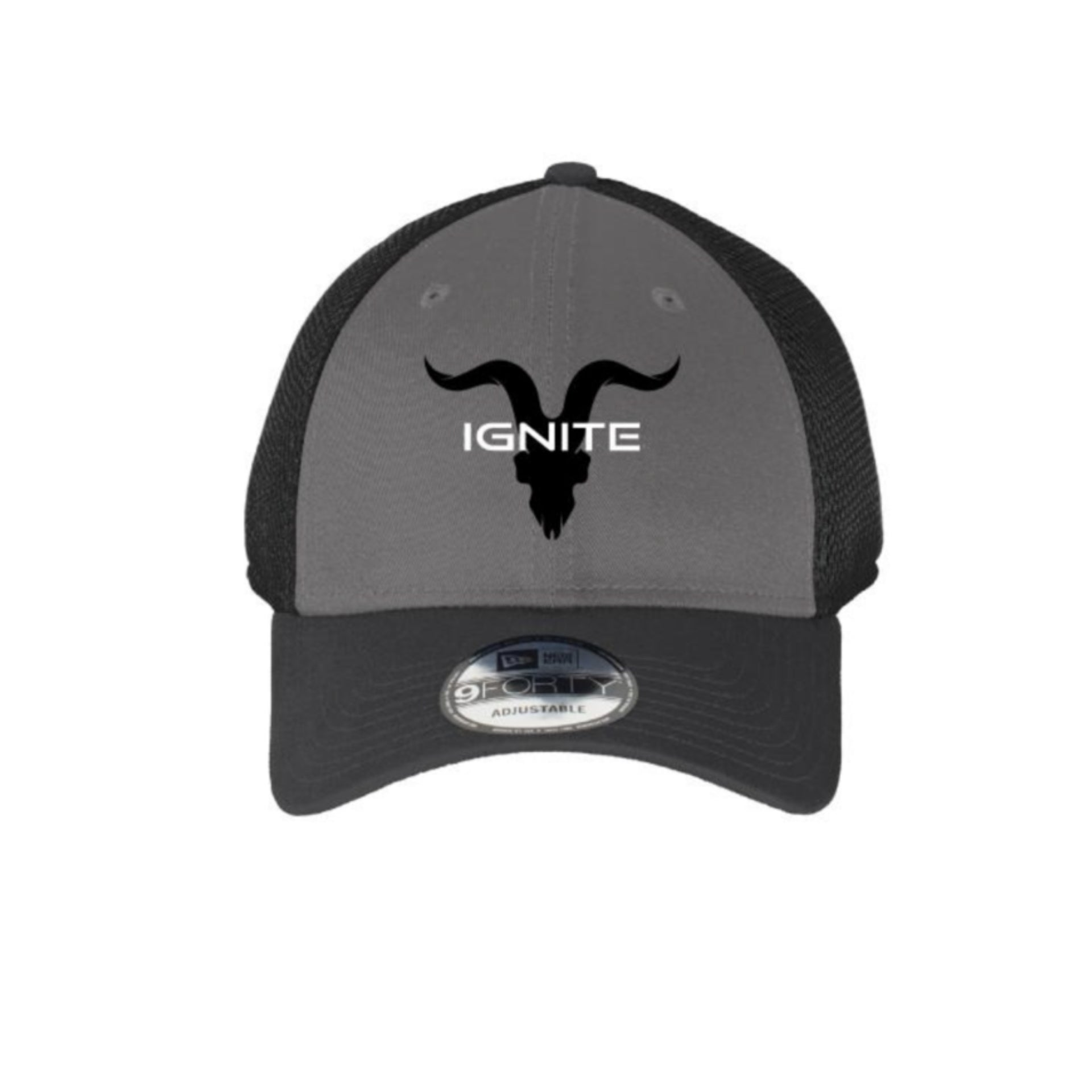 Ignite Premium Collection Two-Tone Mesh Trucker Hat